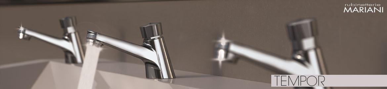 TEMPOR TIMED-FLOW taps