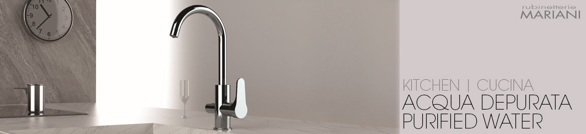 KITCHEN TAP FOR PURIFIED WATER