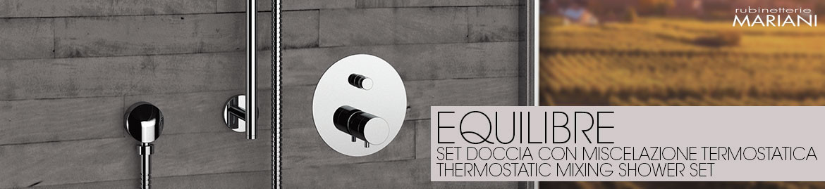 EQUILIBRE thermostatic shower