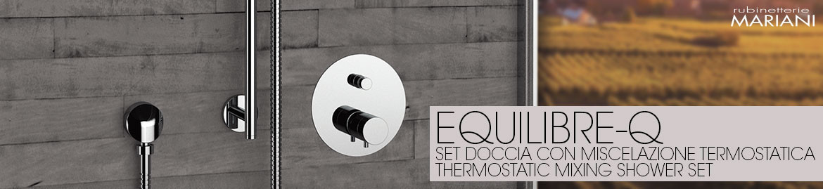 EQUILIBRE-Q thermostatic showers