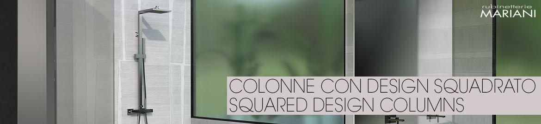 COLONNES AU DESIGN CARRÉ