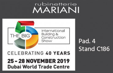 Rubinetterie Mariani @ BIG 5 2019 - Dubai